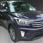Hyundai ix25 production version front