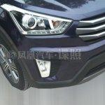 Hyundai ix25 production version headlight