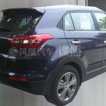 Hyundai ix25 production version rear quarter