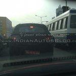 Mahindra S101 spied IAB reader rear