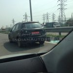 Maruti SX-4 S-Cross IAB spy image - rear three quarter