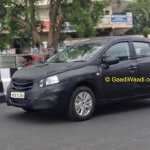 Maruti SX4 S-Cross spotted front quarter