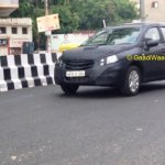 Maruti SX4 S-Cross spotted front quarters