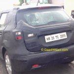 Maruti SX4 S-Cross spotted rear quarter