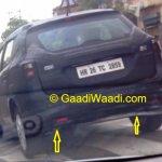 Maruti SX4 S-Cross spotted rear