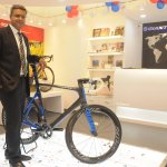 Mr Pravin Patil MD Starkenn Sports Pvt. ltd. with Propel Advanced SL 0