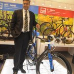 Mr. Pravin Patil MD Starkenn Sports Pvt. ltd. with Propel Advanced SL 0