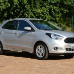 New Ford Ka first images front quarter