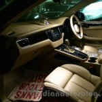 Porsche Macan beige dashboard in India