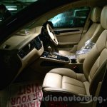 Porsche Macan beige front seats in India