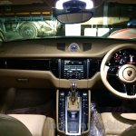 Porsche Macan dashboard in India