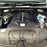 Porsche Macan engine bay in India