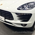 Porsche Macan front bumper in India