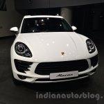 Porsche Macan front in India