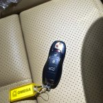 Porsche Macan key fob in India