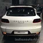 Porsche Macan rear in India