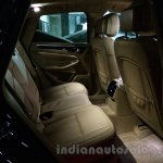 Porsche Macan rear kneeroom in India