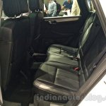Porsche Macan rear seat in India