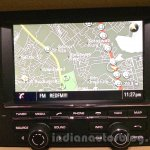 Porsche Macan satellite navigation system in India
