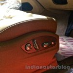 Porsche Macan seat adjustment in India
