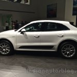 Porsche Macan side view in India
