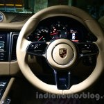 Porsche Macan steering wheel in India