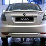 Proton Saga FLX Executive Malaysia rear