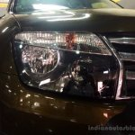 Renault Duster 2nd Anniversary Edition live images headlamp
