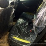 Renault Duster 2nd Anniversary Edition live images rear seat