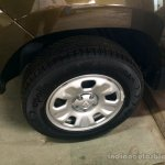 Renault Duster 2nd Anniversary Edition live images wheel