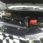 Spied 2016 Ford Endeavour engine