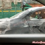 Spied Maruti Ciaz sedan windows