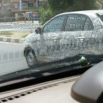 Tata Bolt camouflaged IAB spied side
