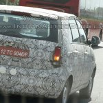 Tata Bolt camouflaged IAB spied taillight