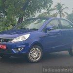 Tata Zest Diesel F-Tronic AMT Review front quarters
