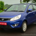 Tata Zest Diesel F-Tronic AMT Review front three quarter