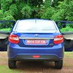 Tata Zest Diesel F-Tronic AMT Review rear doors open