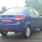 Tata Zest Diesel F-Tronic AMT Review rear quarters