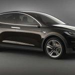 Tesla Model X side official image