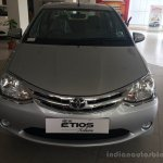 Toyota Etios Xclusive Edition live shots front