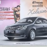 Toyota Etios Xclusive Edition live shots image