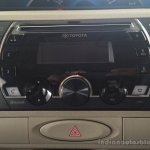 Toyota Etios Xclusive Edition live shots music system