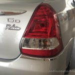 Toyota Etios Xclusive Edition live shots taillight