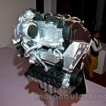VW 1.5L TDI diesel engine front three quarter