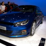2014 VW Scirocco facelift at the 2014 Moscow Motor Show front quarter