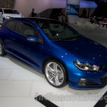 2014 VW Scirocco facelift at the 2014 Moscow Motor Show front quarters