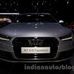 2015 Audi A7 front at the Moscow Motorshow 2014