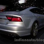 2015 Audi A7 rear three quarter at the Moscow Motorshow 2014
