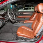 2015 Cadillac ATS at the 2014 Moscow Motor Show front seat