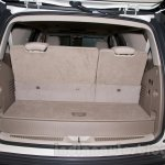 2015 Cadillac Escalade at the 2014 Moscow Motor Show boot capacity